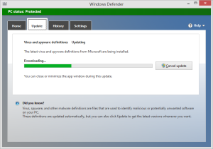 Enable Windows Defender (included with Windows 8) Then choose update and scan to finish the job.